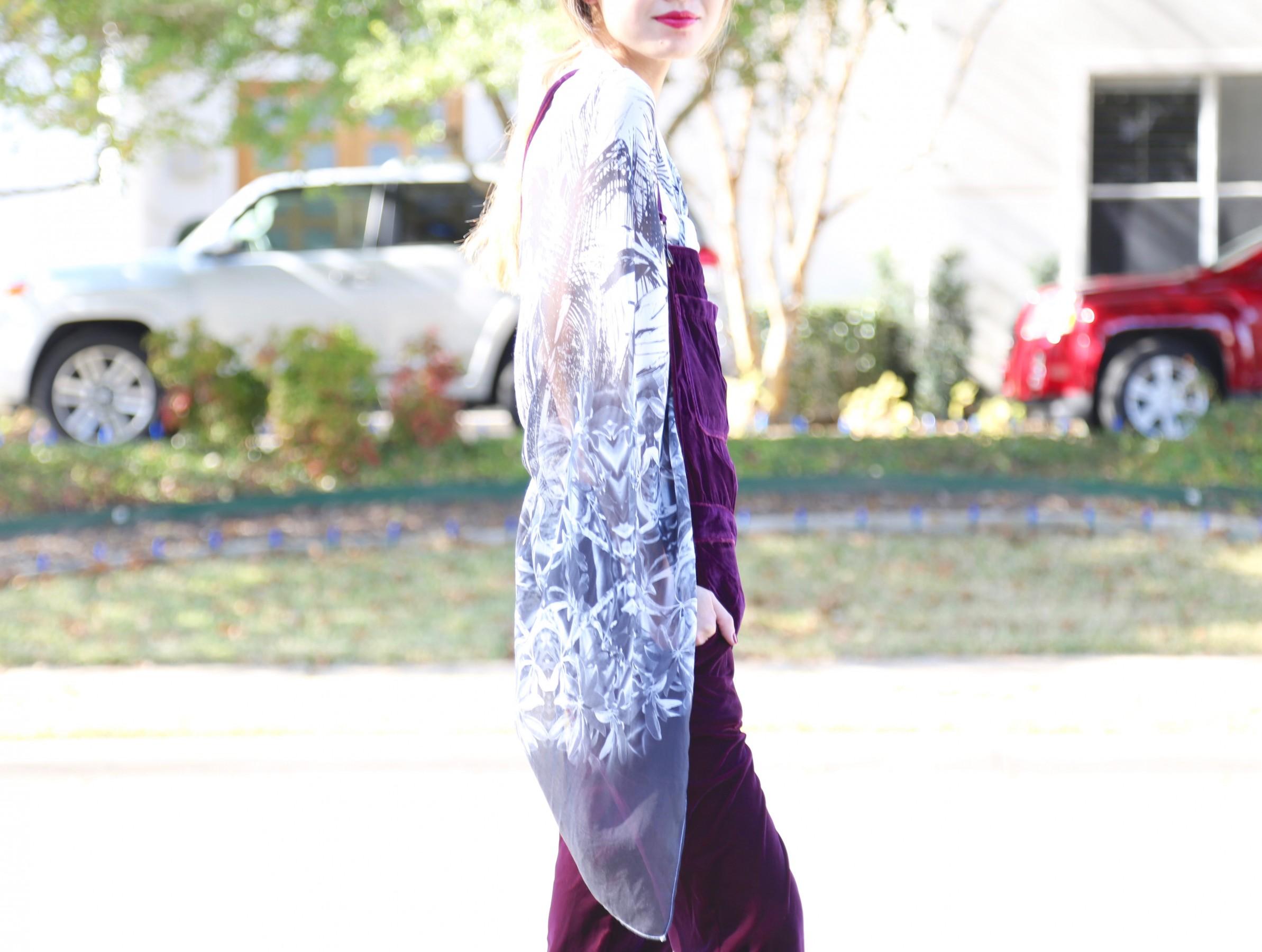 kimono overalls