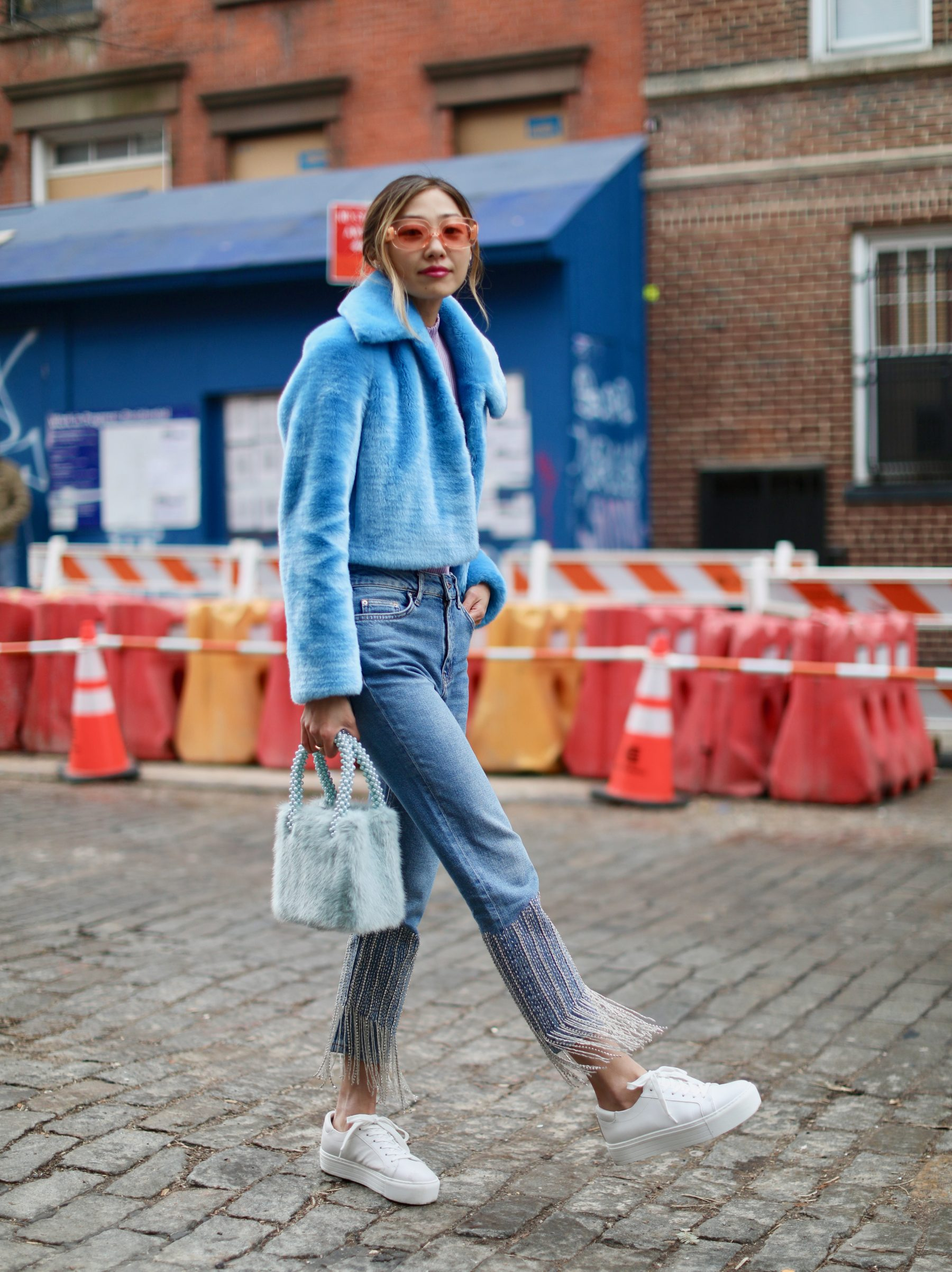 e38577761df075 Faux Fur and Fancy Jeans (NYFW Look) · February 23