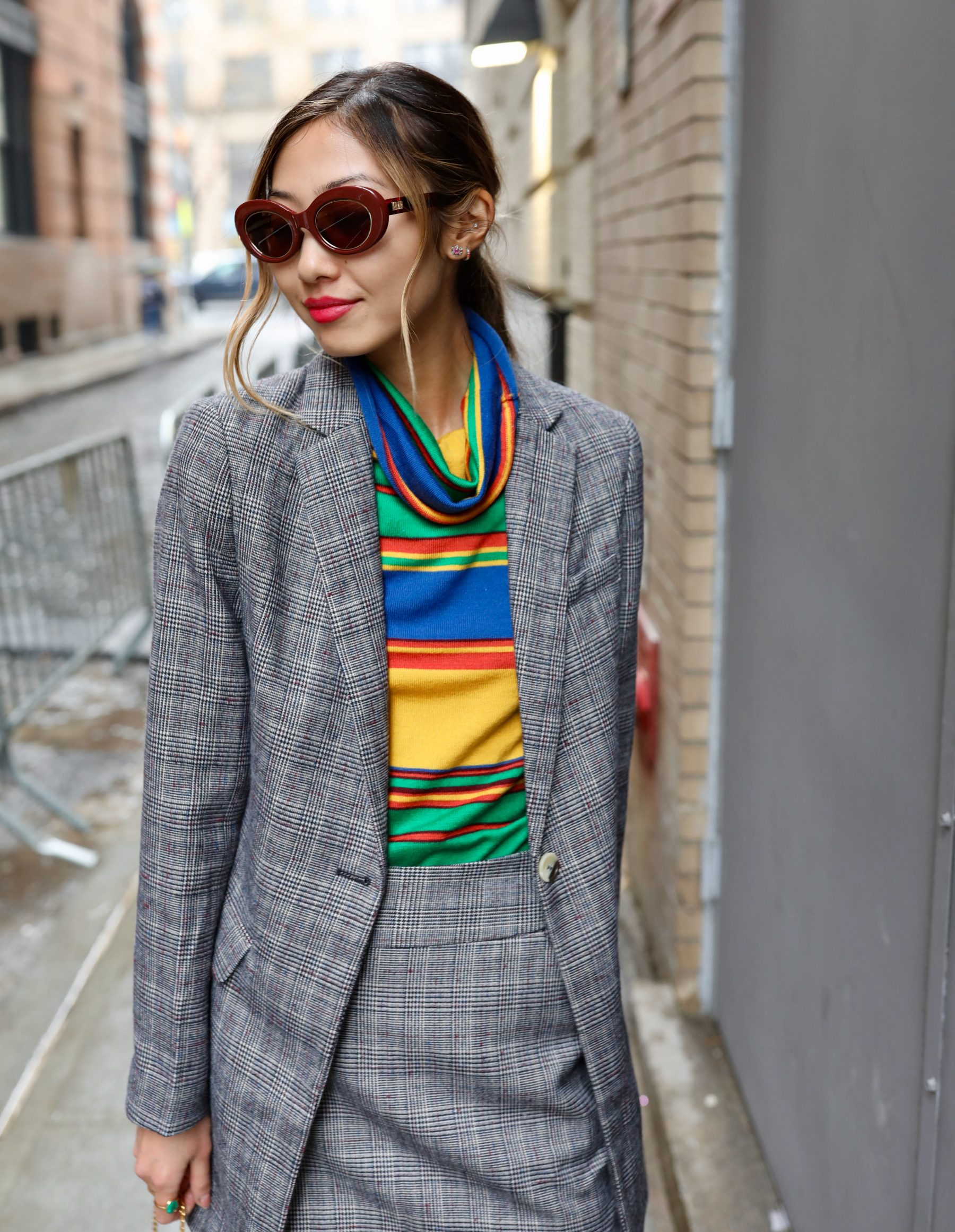 f8df931bcfac4f Check Suit (NYFW Look) · February 19